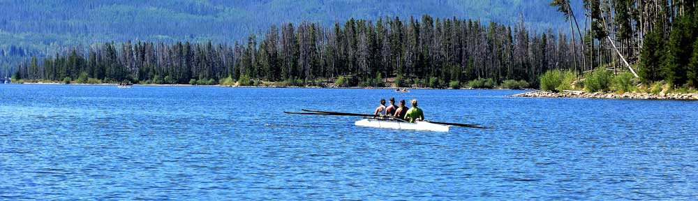 Frisco Rowing Center at Dillon Reservoir